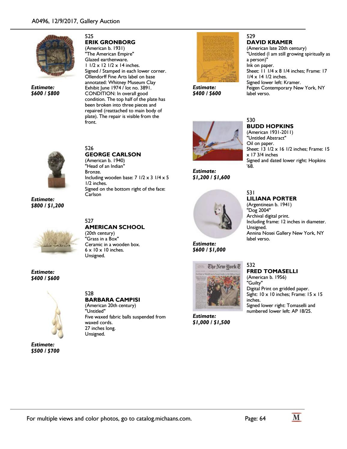 December Gallery Auction catalog by Michaan's Auctions - issuu