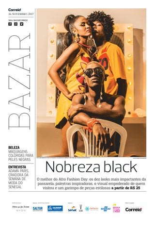 Bazar Afro Fashion Day by Jornal Correio - issuu e45e86ab36