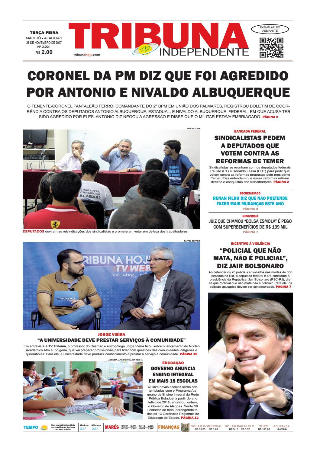 7b70d28b3 Edição número 3031 - 28 de novembro de 2017 by Tribuna Hoje - issuu