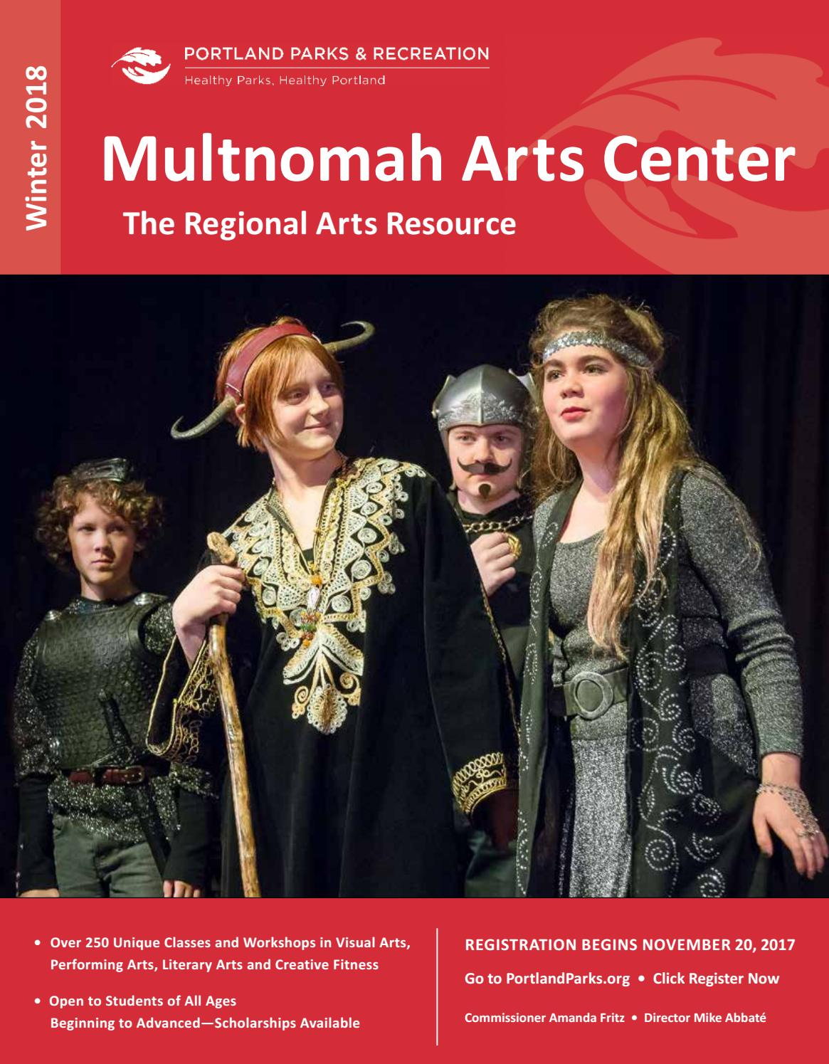 Multnomah Arts Center Winter 2018 By Portland Parks Recreation Step 3 Weaving The Relay Modules With Dancing Lights Issuu