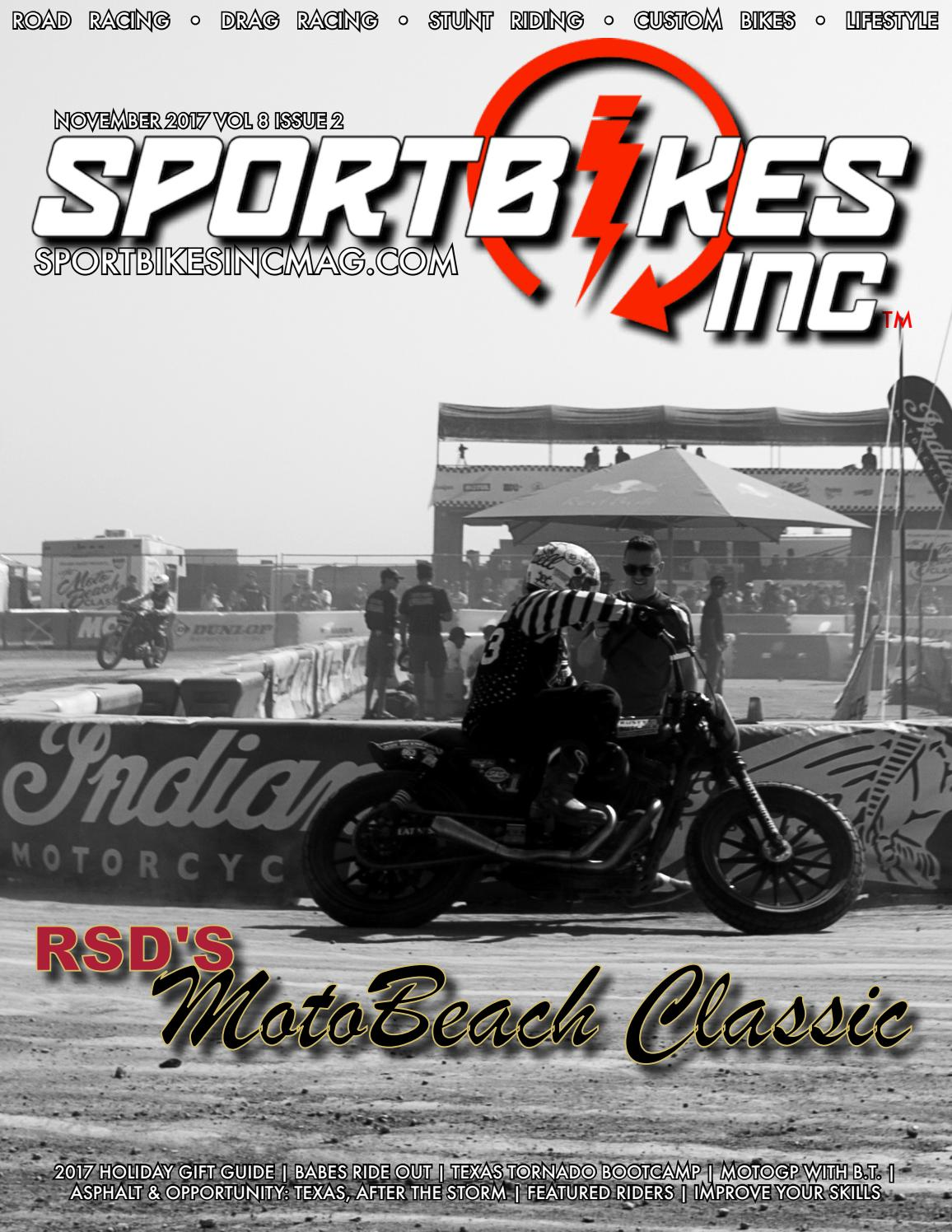 ce06e3db02 SportBikes Inc Magazine November 2017 by Hard Knocks Motorcycle  Entertainment - issuu