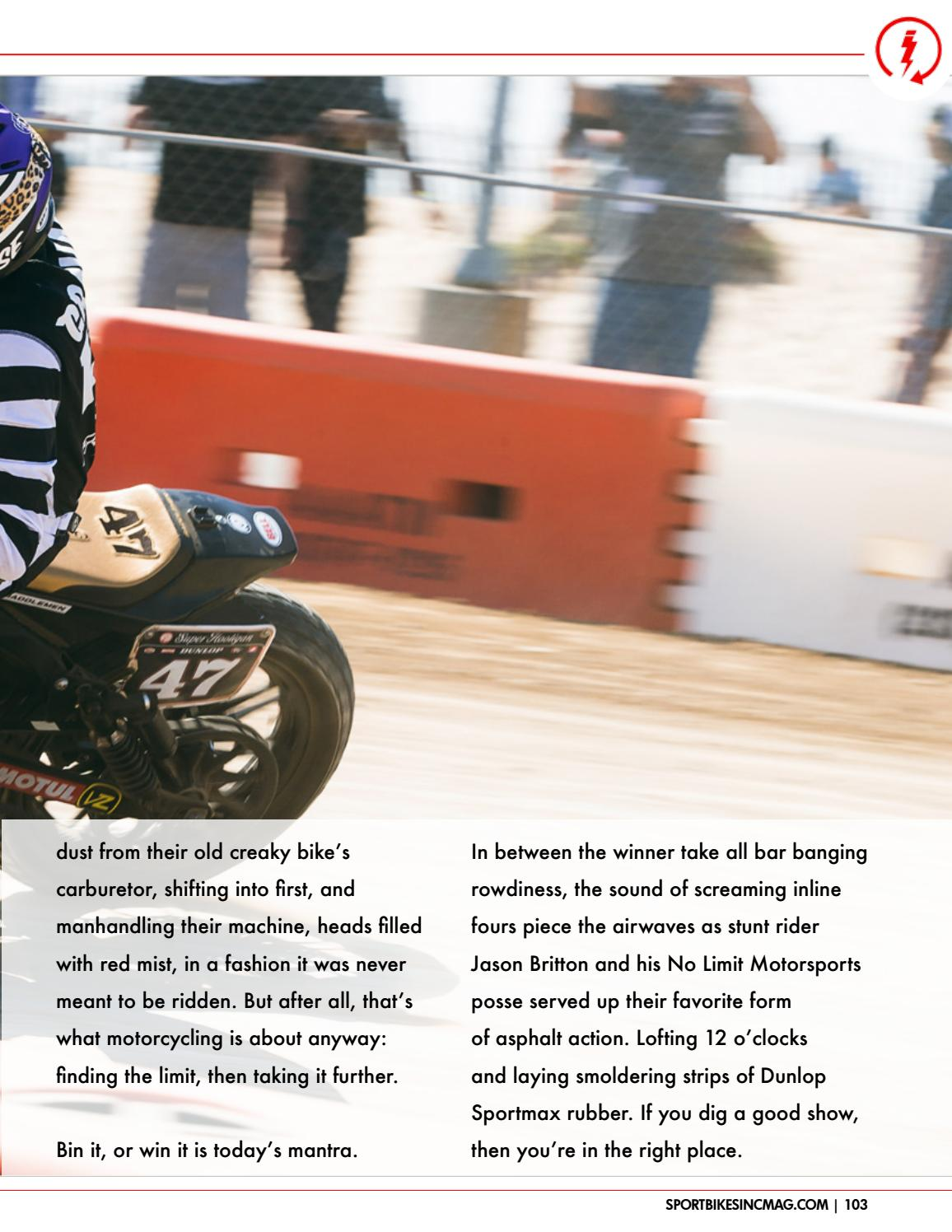 SportBikes Inc Magazine November 2017 by Hard Knocks Motorcycle