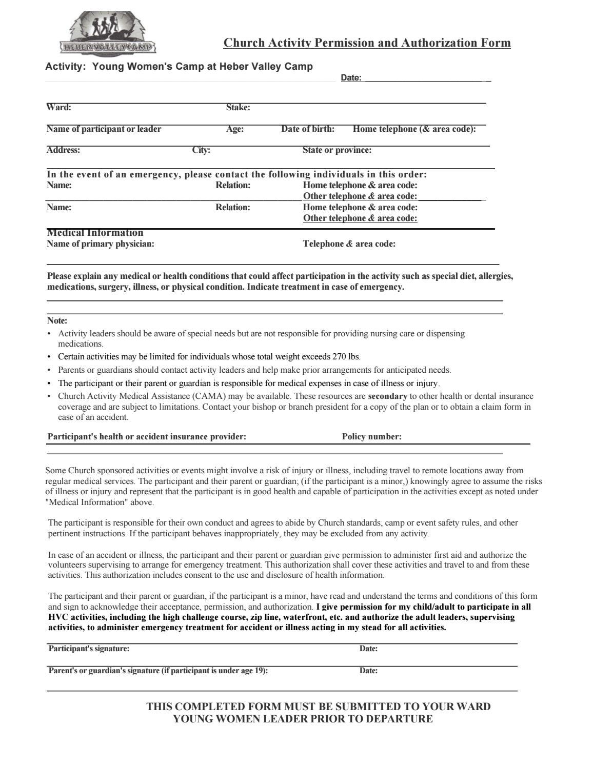 Heber Valley Permission Slip by Ally McQuivey - issuu