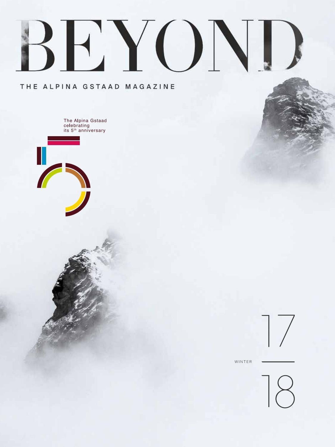 BEYOND by The Alpina Gstaad - issuu