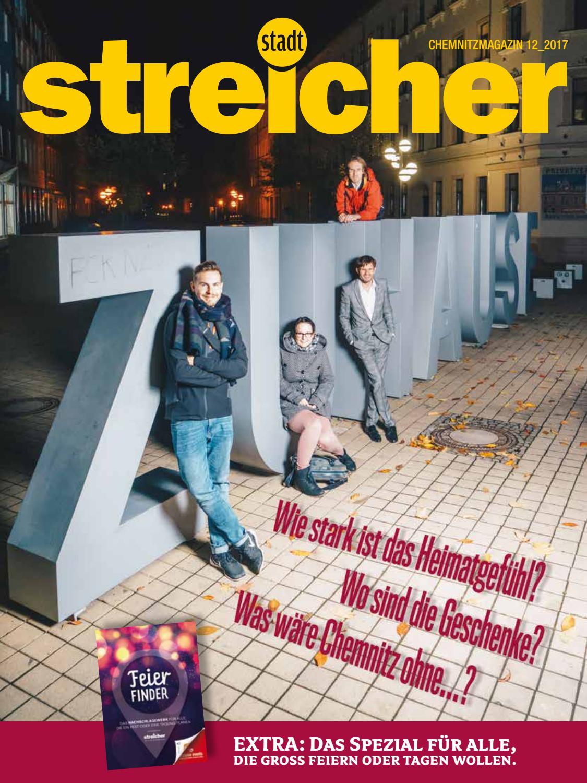 Stadtstreicher Dezember 2017 by Stadtstreicher Stadtmagazin - issuu