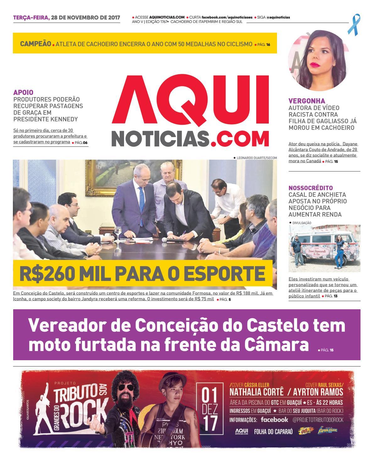 Aqui Notícias Edição 1767 by Aqui Notícias - issuu a7e05aa724b14