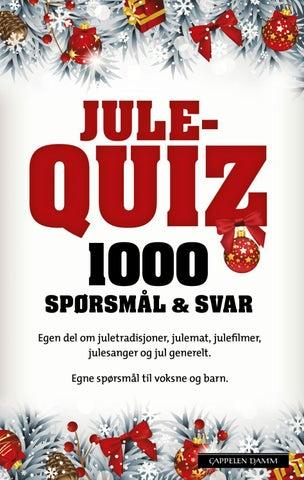 sporsmal og svar quiz 2013