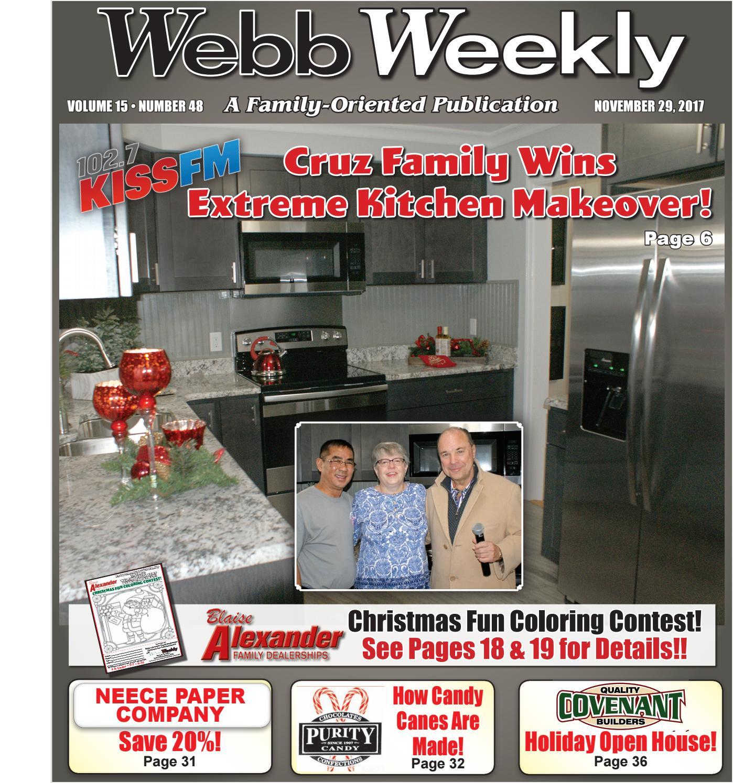 Webb Weekly November 29 2017 By