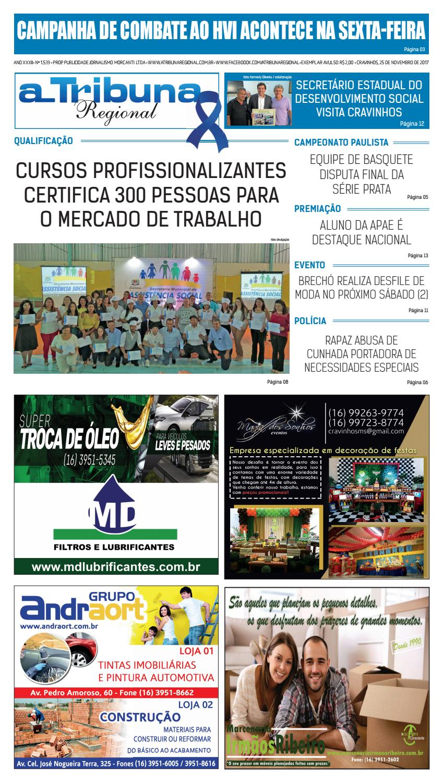 jornal A Tribuna Regional de Cravinhos by Leandro Cavalcanti - issuu 988108d66c151