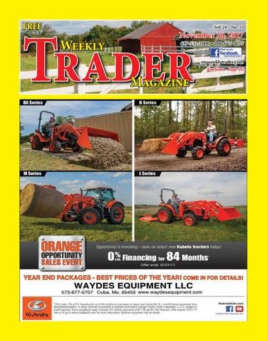 weekly trader november 30 2017 by weekly trader issuu