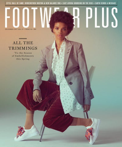 san francisco c5fef 22d2f Footwear Plus Magazine   December 2017
