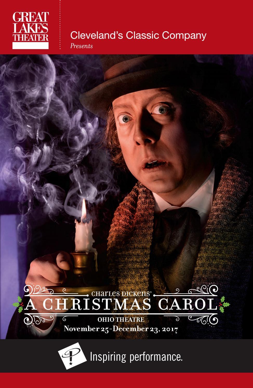 A Christmas Carol 2009 Cast.A Christmas Carol Playbill Fall Winter 2017 By Great Lakes