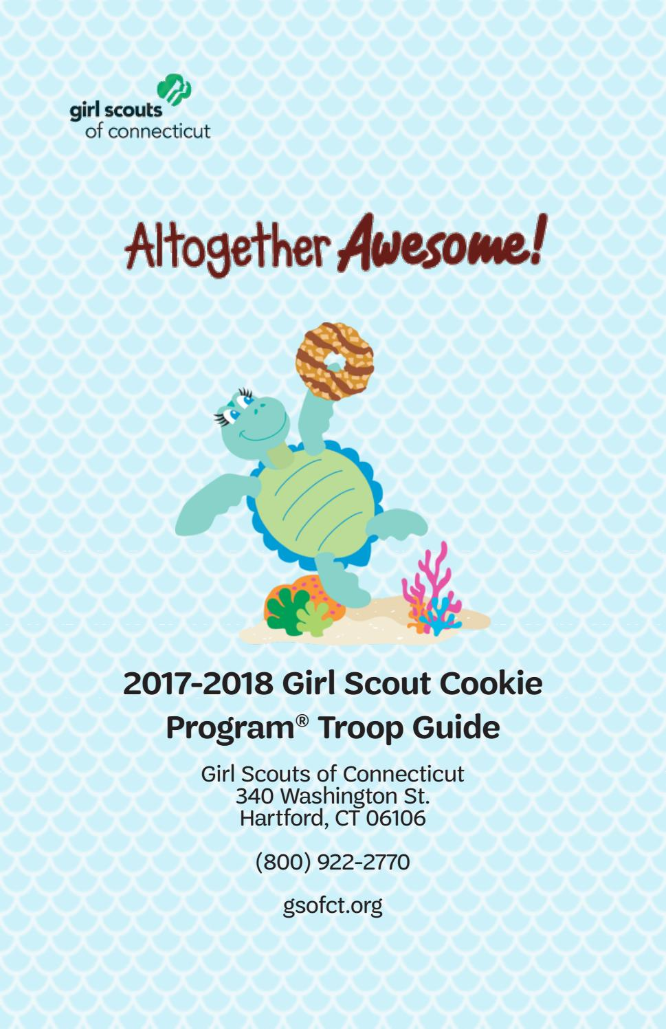 2018 Cookie Program Troop Guide By Girl Scouts Of