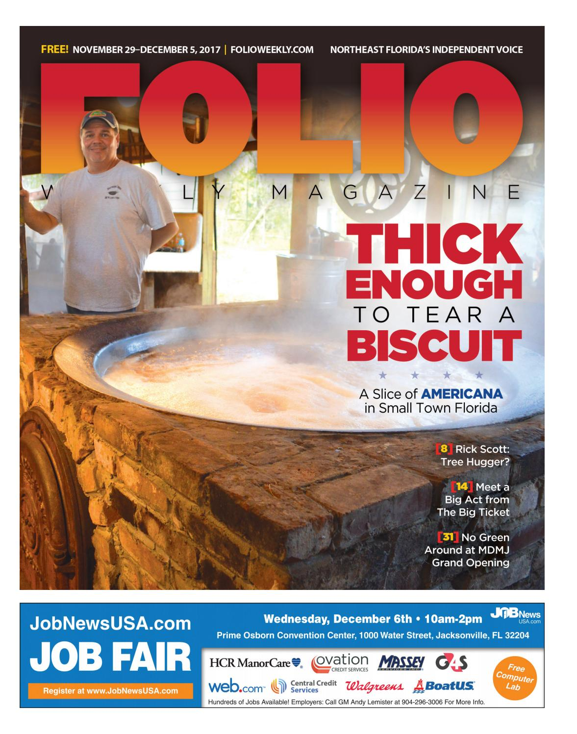 11/29/17 Thick Enough to Tear a Biscuit by Folio Weekly - issuu