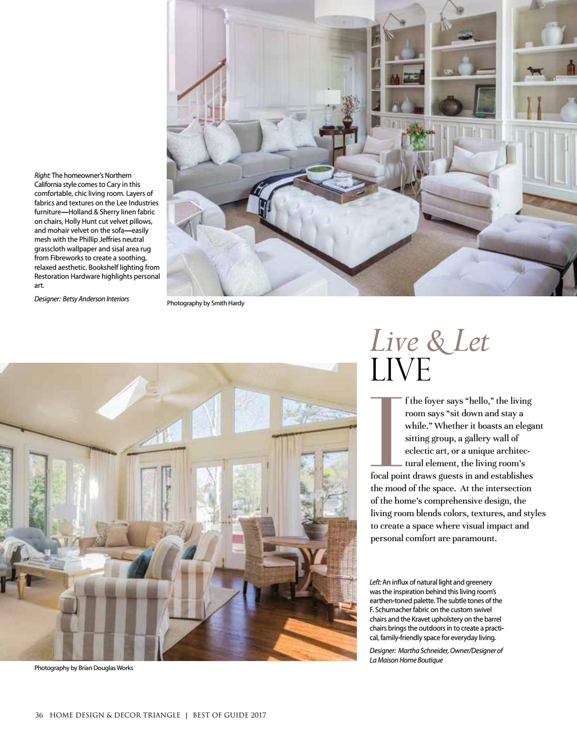 Triangle Best of Guide 2017 by Home Design & Decor Magazine - issuu
