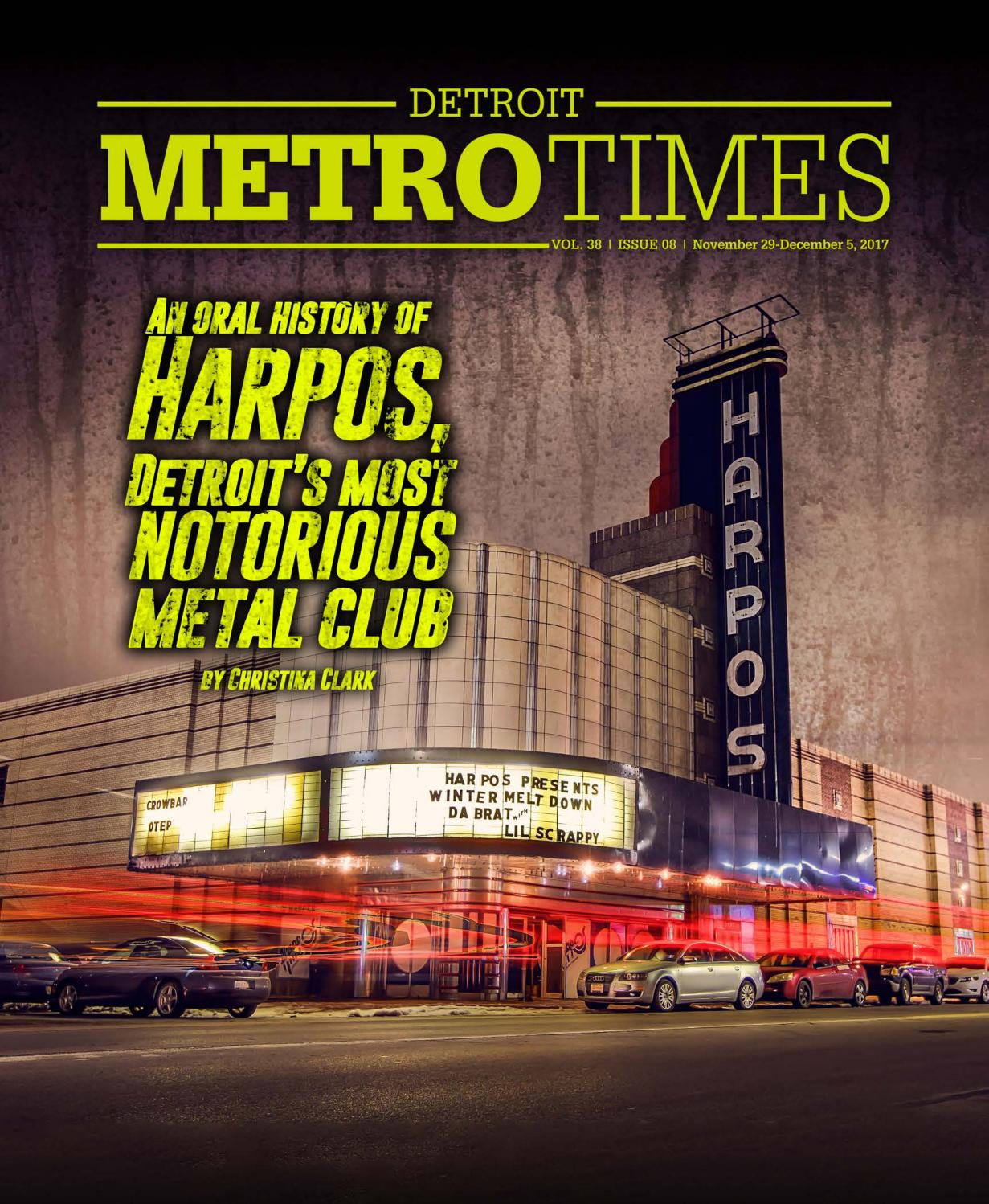 7ffccad10e9f4 Metro Times 112917 by Euclid Media Group - issuu