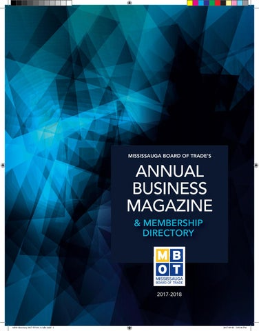 Annual Business Magazine 2017 By Mississauga Board Of Trade Issuu