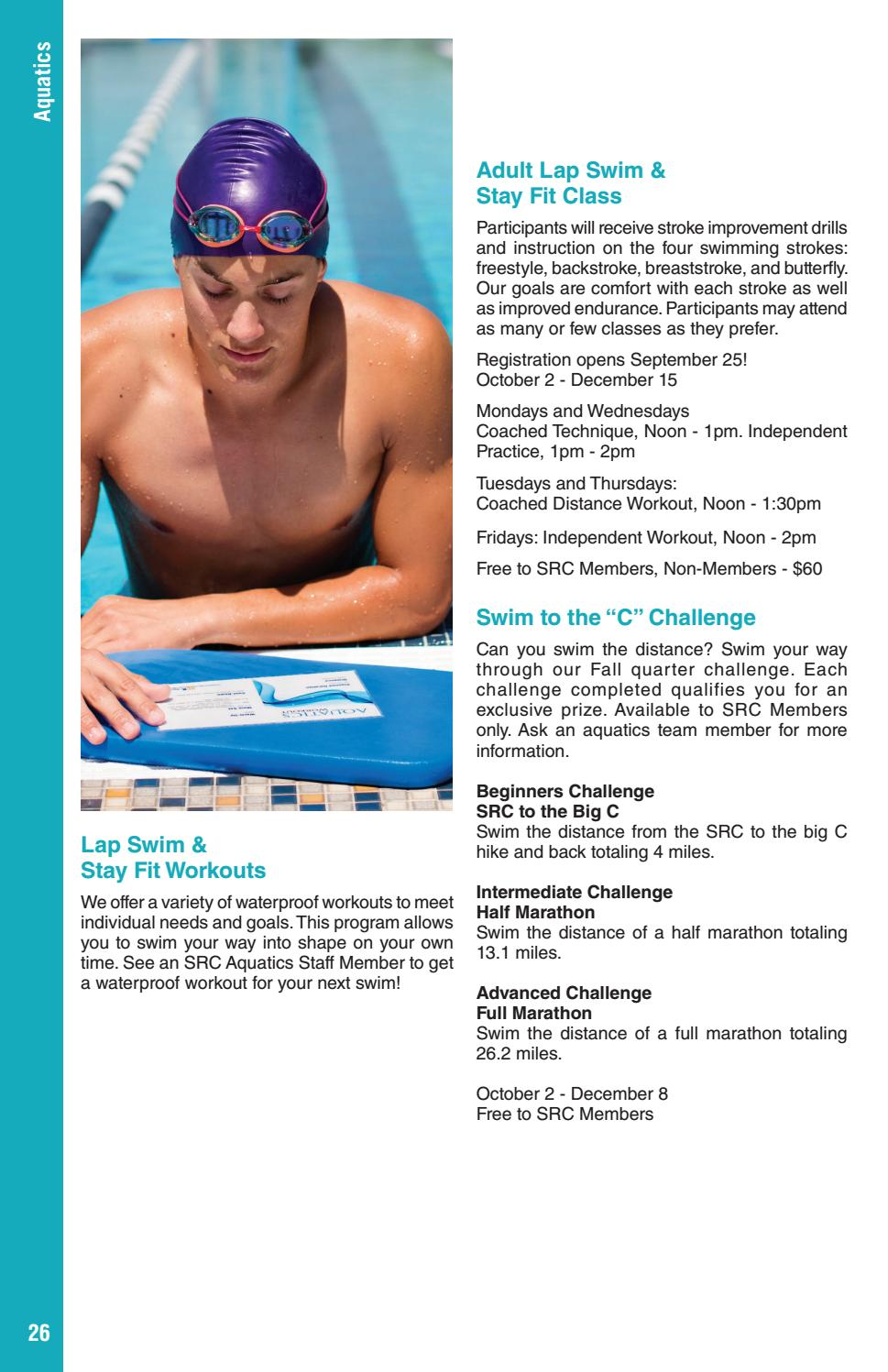 Swim Workouts for Swimmers