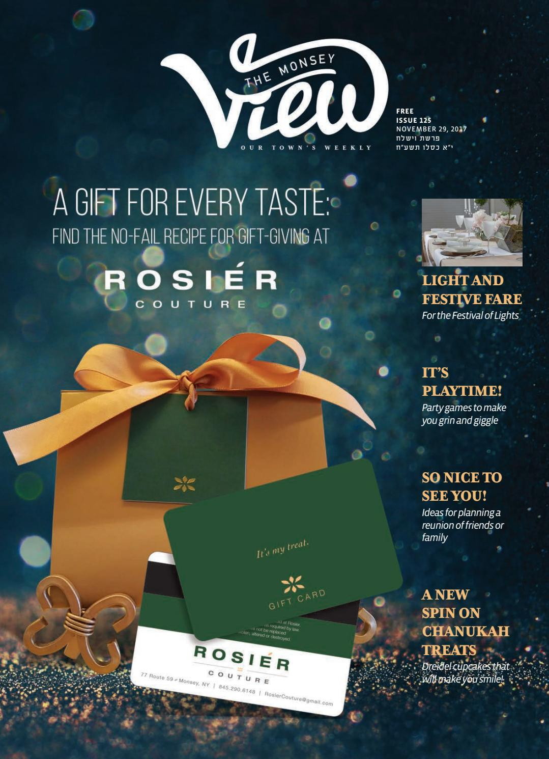 77330c68fb5 Issue 125 by The Monsey View - issuu