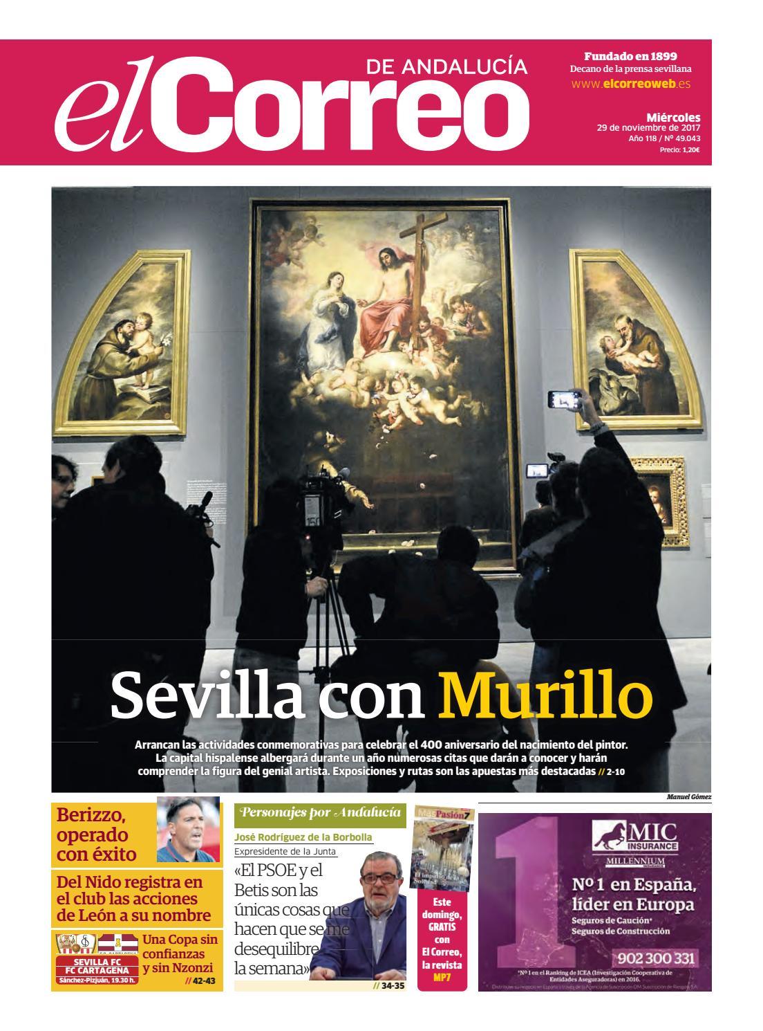 c0bf3944502 29.11.2017 El Correo de Andalucía by EL CORREO DE ANDALUCÍA S.L. - issuu