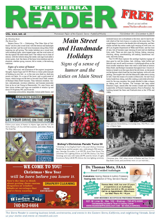 The Sierra Reader November 30 By Issuu Diamond Plain Fresh Milk 949 Ml
