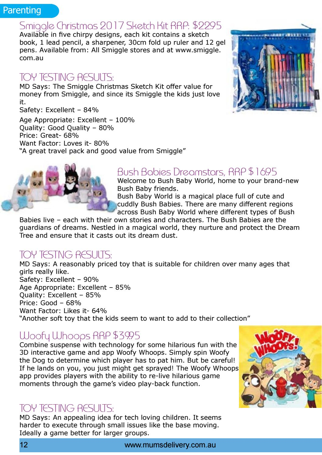 Busy Mums Magazine Nov17: Toy Test Results, Christmas, Holidays with ...
