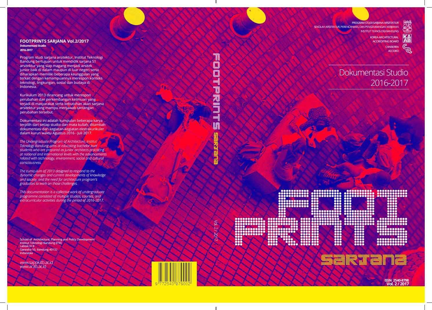 Footprint Vol 2 2017 By Unit Publikasi Program Studi