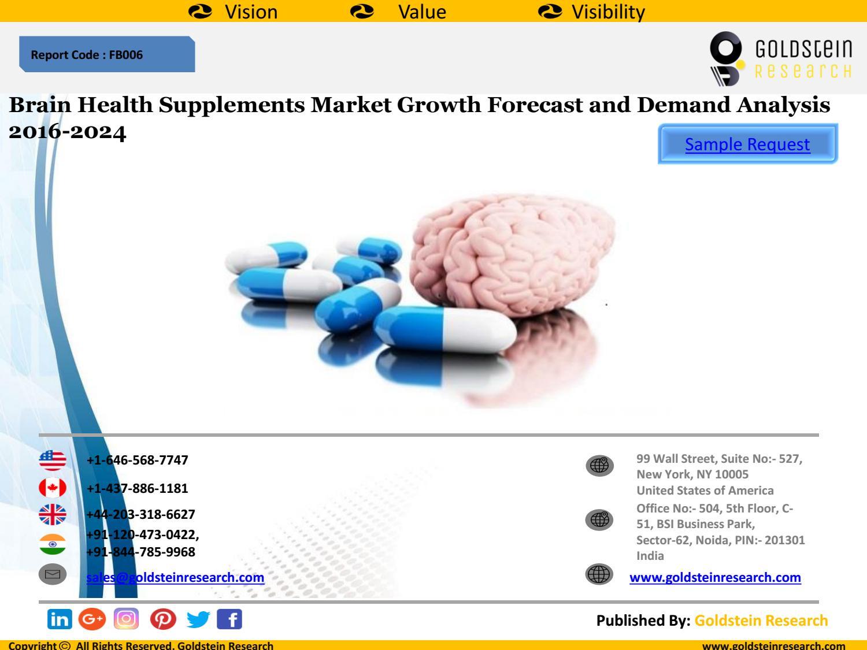 Brain Health Supplements Market Growth Forecast And Demand Analysis