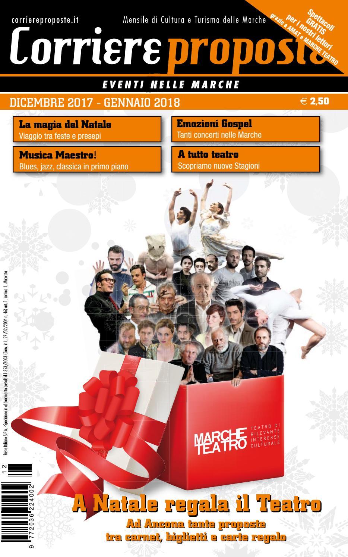 La Boutique Del Materasso Osimo.Corriere Proposte Dicembre 2017 Gennaio 2018 By Corriere Proposte
