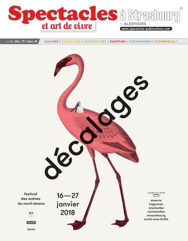 Spectacles Publications Strasbourg n°208   Décembre 2017 - Janvier ... 77ec2f85125
