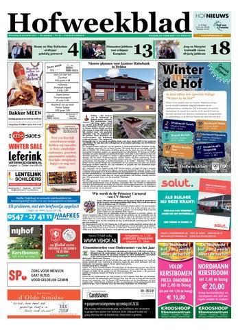Hofweekblad Week 48 17 By Regionale Uitgeversgroep Issuu