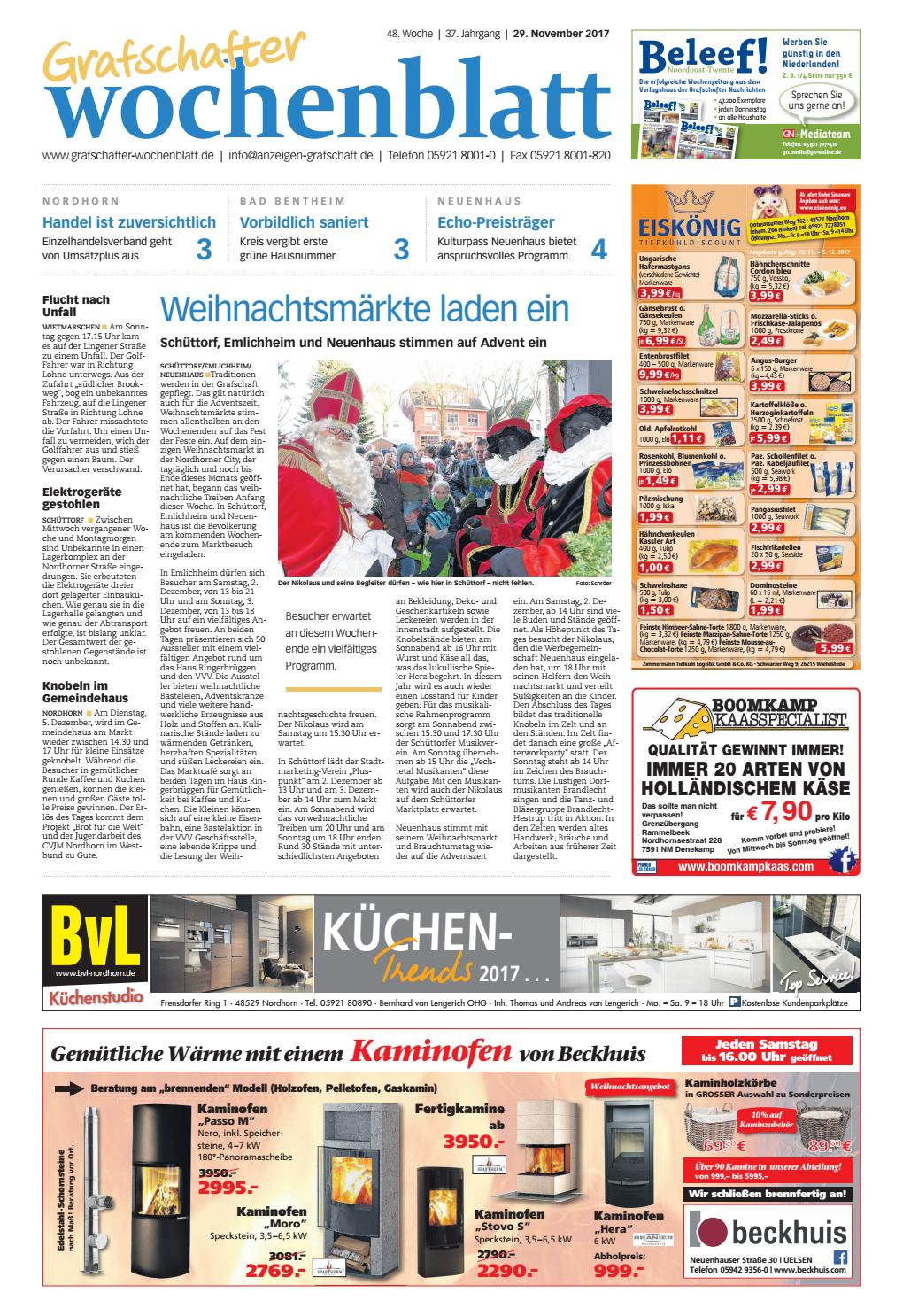 Grafschafter Wochenblatt_29-11-2017 by SonntagsZeitung - issuu