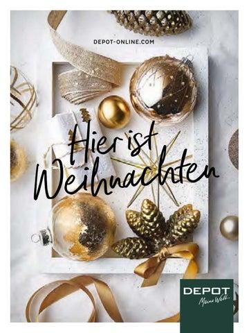 Depot Weihnachtskatalog By Mohr Dollern Issuu