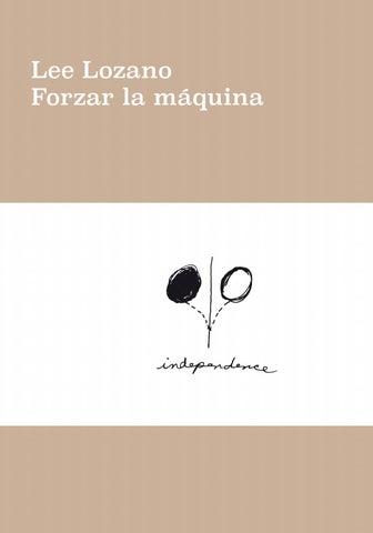 Lee Lozano. Forzar la máquina by Museo Reina Sofía - issuu