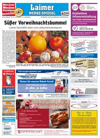 Kw 48 2017 By Wochenanzeiger Medien Gmbh Issuu