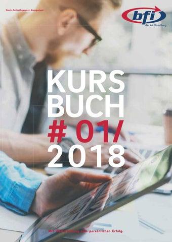 BFI-Kursbuch Frühjahr 2018 by BFI der AK Vorarlberg - issuu