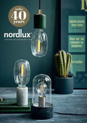Nordlux Catalogue 2017 2018 By Nordlux A S Issuu