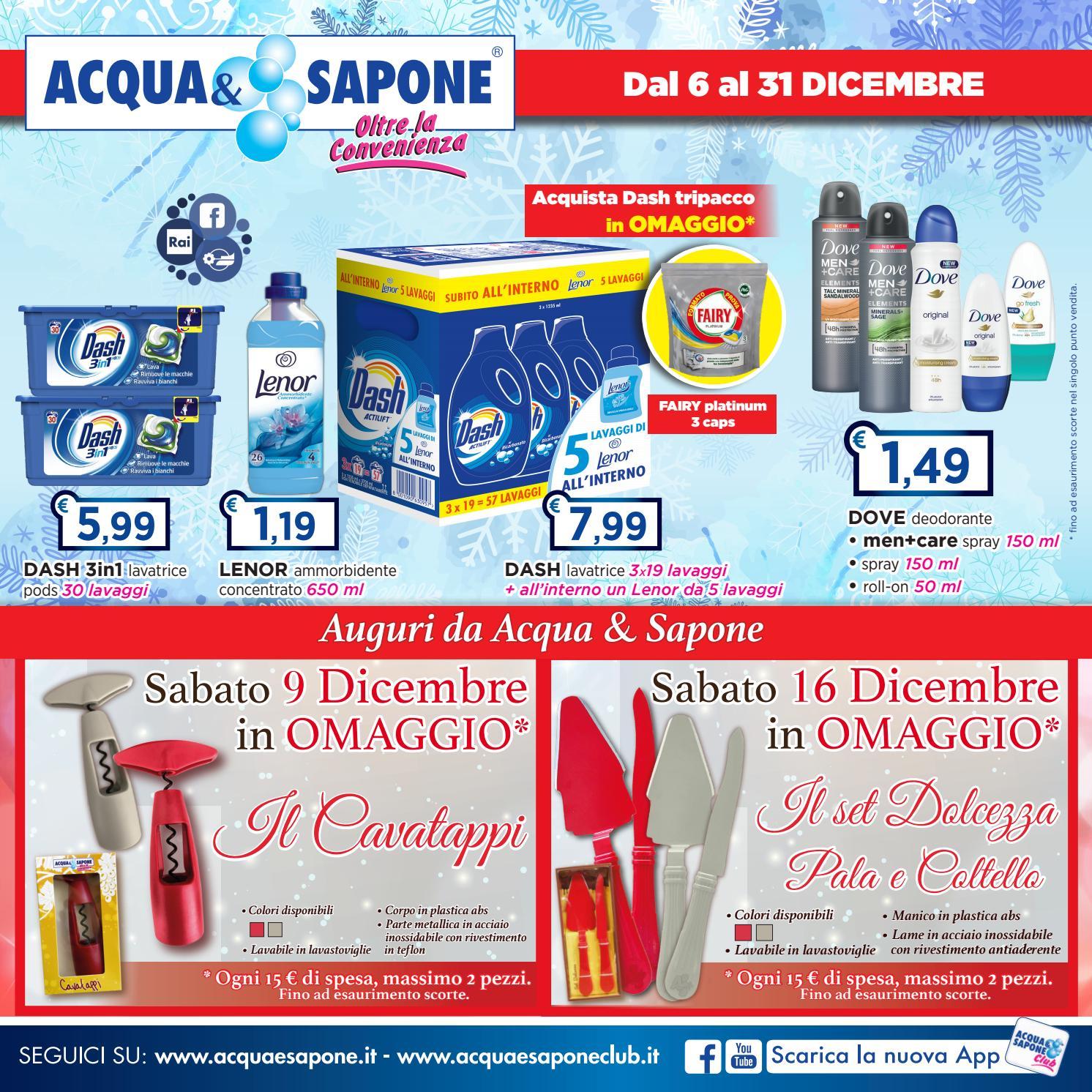 Volantino Acqua&Sapone n.20 by Acqua & Sapone - asclub - issuu