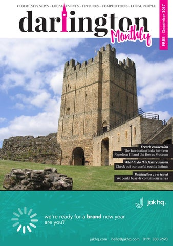 Darlington Monthly December 17 By Darlington Monthly Issuu