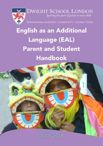English As An Additional Language EAL Handbook By Dwight