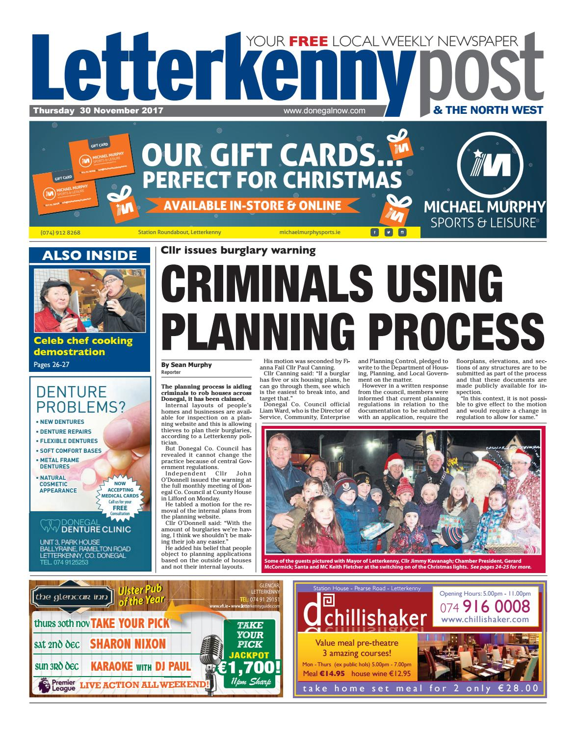 Letterkenny Post 30 11 17 By River Media Newspapers Issuu Catriona Agatha Top Handle Bag Purple