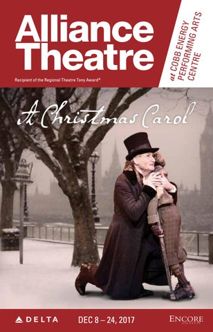 Alliance Theatre A Christmas Carol 2017 By Encore Atlanta Issuu