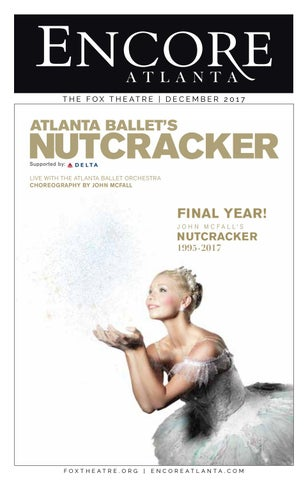 afdc51771bbc8 FOX ENCORE :: DECEMBER 2017 :: Atlanta Ballet's Nutcracker + Mighty ...