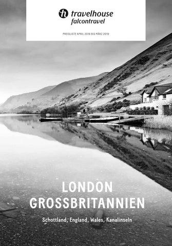 Preisliste Travelhouse Grossbritannien Und London U2013 April 18 Bis ...