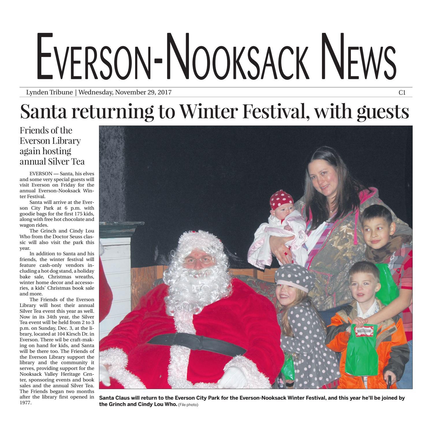 Everson Nooksack News November 2017 By Lynden Tribune