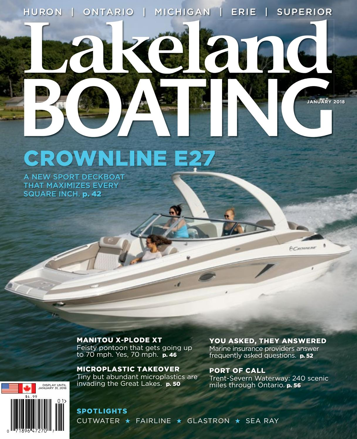 January 2018 by Lakeland Boating Magazine - issuu