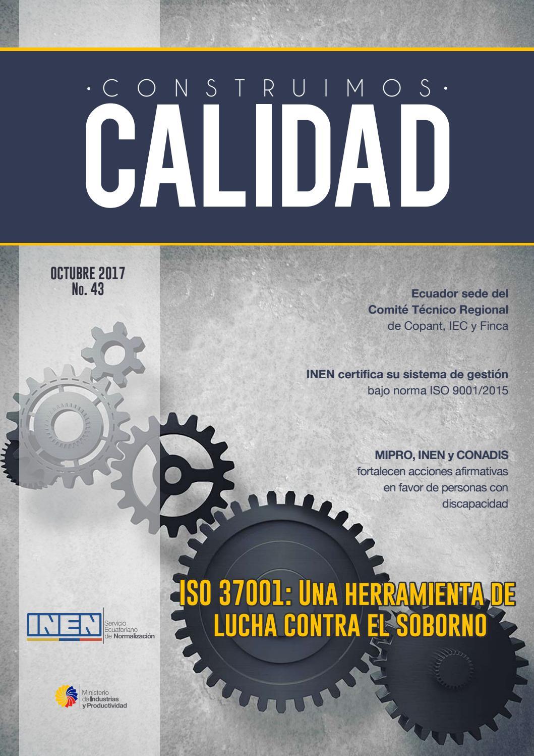 Mipro Muebles Hierro - Revista Calidad Inen 2017 By Servicio Ecuatoriano De Normalizaci N [mjhdah]https://image.isu.pub/170817155941-2ad70735b352e8237c1dcc24ec9ff2aa/jpg/page_1.jpg