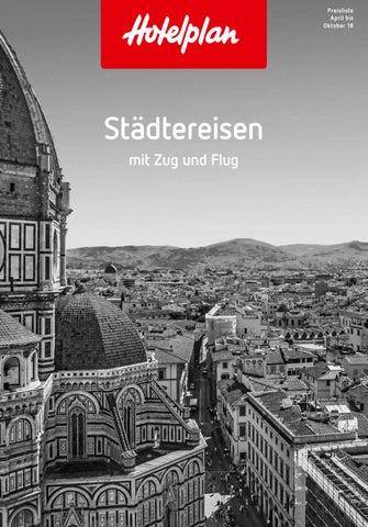 Preisliste Hotelplan Stadtereisen Sommer 2018 By Suisse
