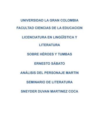 Sobre Heroes Y Tumbas Ernesto Sabato Pdf Download