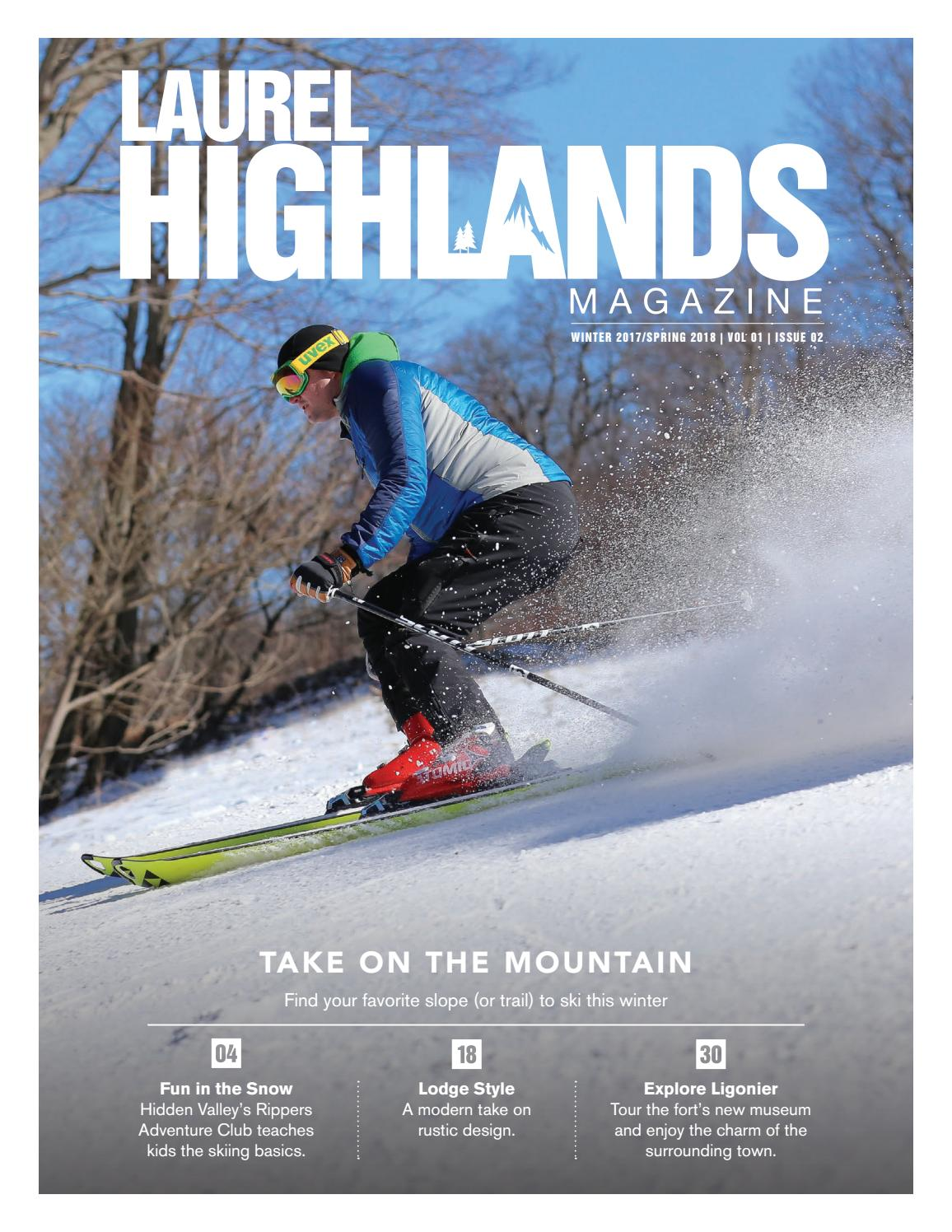 Laurel Highlands • Winter 2017 • Issue 2 by Sunflower Publishing - issuu 69fed6df6be